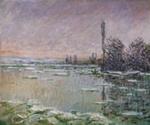 La Débâcle ; Claude Monet; 1880; 220-1982