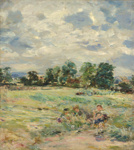 Windy Landscape ; William McTaggart; c 1890s; 4-1952