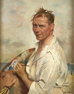 Après Le Bain, Dieppe ; William Orpen; 1929; 1-1932