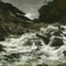 A waterfall in the Otira Gorge ; Petrus van der Velden; 1891; 2-1893