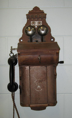 Wall telephone, L.M. Ericsson & Co.    Stockholm Sweden, Pre 1900, 5