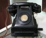 Bakelite telephone, Circa 1940 - 1950, 1