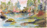 Water Colour - E Buttimore; 1069