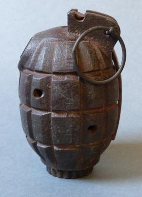 Mills bomb; Mills Munitions Factory; 1917-1980s; 186