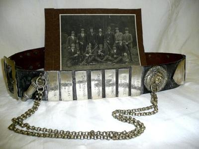 Cambridge Defence Rifle Club Championship Belt, 1023