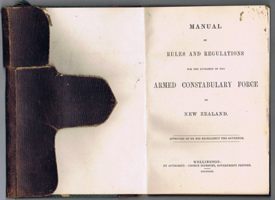 Manual of Rules and Regulations for the Guidance of the Armed Constabulary Force of New Zealand ; 665