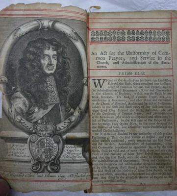 17th Century Book of Common Prayer; 437