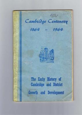 'Cambridge Centenary 1864-1964' by H G Carter; 1044