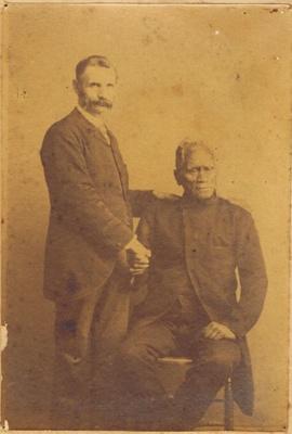Thomas Wells and King Tawhiao ; 1093