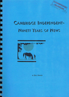 'Cambridge Independent - 90 years of news' by Eris Parker; 1043