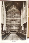Postcard: Postcard from New College, Oxford. The Chapel. ; Thomas Photos; C.1954; 2017.32.96