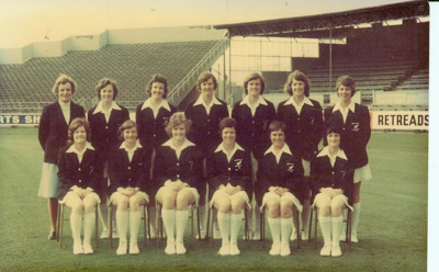 Photo: New Zealand Women, Carisbrook 1977; Kodak; 1977; 2018.5.39