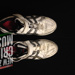 Shoes; Chris Martin's ASICS Speed Menace cricket shoes; ASICS; c2012; 2013.4.3