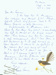 Letter: Pearl Savin letter to Stanley Cowman, 1988.; Pearl Savin; 1988; 2018.33.6