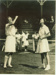 Photo: Nolly Dive tossing with Ina Lamason, 1947.; The Sport and General Press Agency Ltd.; 1954; 2018.5.16