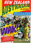 Programme: New Zealand and Australia in Action! - The Official NZCA One Day International Souvenir Programme, Game Two, Wellington, 10 February 1998; New Zealand Cricket; FEB 1998; 2007.78.1