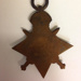 Medal: 1914-15 Star, WWI medal awarded to LP Cave; 1918; 2016.8.6