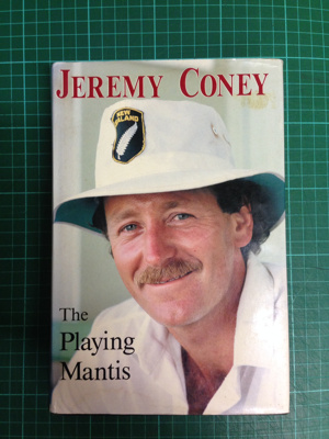 The Playing Mantis; Jeremy Coney; 1986; 0-908570-05-8; 2017.17.38
