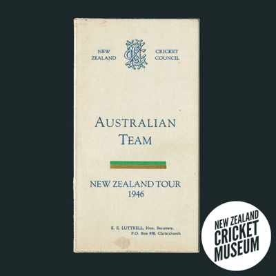 Itinerary: Australia in New Zealand, 1946; New Zealand Cricket Council; 1946; 2016.12.10