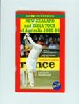 Tour Guide: ABC Cricket Book - New Zealand and India Tour of Australia 1985-86; ABC Enterprises; 1985; 2006.45.5
