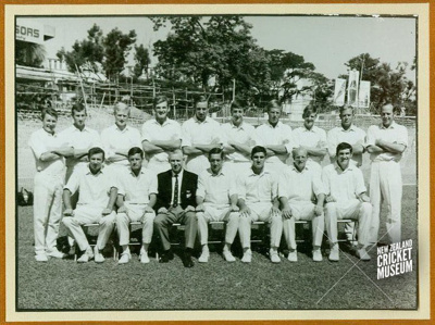 Photo: New Zealand Cricket Team, Tour of Indian and Pakistan 1969; New Zealand Cricket Council; 1969; 98/354