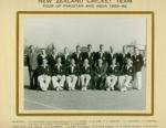 Photo: New Zealand Cricket Team, Tour of Pakistan and India 1955-56; D'Niloo; NOV 1956; 99/120