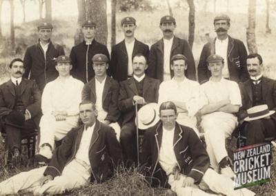 Auckland Plunket Shield team, 1907-08; 1907; DC.14.01.06