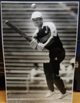Photograph: Jeff Crowe batting for Auckland. ; Shell Photographic Unit; c.1980s ; 2018.14.8