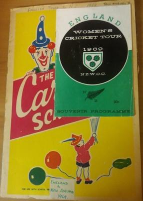 Scrapbook: Trish McKelvey 1969 England tour of New Zealand  ; Trish McKelvey; C.1969; 2018.5.6