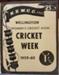 Women's Cricket Week - Wellington 1959-60; C.1949-1964; 2017.32.56