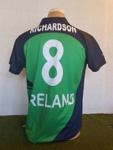 Shirt: Eimear Richardson's Ireland shirt; O'Neills; 2016; 2017.38.1
