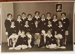 Photograph: 1954 New Zealand women's cricket team photo. Signed by the team on the back. ; Crown Studios; Circa 1954; 2017.32.39