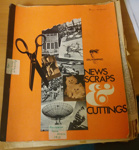 Scrapbook: Trish McKelvey Australia and South Africa 1972   ; Trish McKelvey; C.1972, 1977 ; 2018.5.9