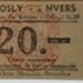 Ticket (transit): Brussels-Antwerp  ; C.1950s; 2017.32.79