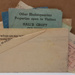 Telegram: A telegram to Eris Paton and Joyce Clothier  from the Scottish Patons with transit and museum tickets enclosed. ; 1954; 2017.32.114