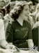 Photograph of Shelagh Wood in the crowd at 1949's first Test between England and New Zealand at Leeds; The Sport & General Press Agency; 13 June 1949; 2008.60.9
