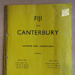 Programme: Fiji v Canterbury, 1962; Canterbury Cricket Association; 1962; 2015.11.3