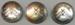 Badge: Collection of three Wellington Women's Cricket Association Badges; W.R. Bock & Sons LTD; 2017.36.93