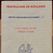 Leaflet: Detailing the exchange rate for people travelling to Holland. ; C.1950s; 2017.32.75