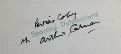 Arthur Carman Papers; Arthur H Carman; 2017.22.1