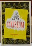 Play Programme: Coliseum ; C.1954; 2017.32.81