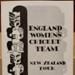 Souvenir Programme: England Women's Cricket Team New Zealand Tour 1957-58. ; 1957-58; 2017.32.102