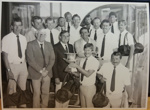 Photograph: 1984/1985 Shell Cup Final, Paul Skinner with the winning team, Central Districts. ; Shell Photographic Unit; c.1985; 2018.14.7