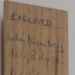Half Wicket - Signed by 1957/58 England and New Zealand Women's Teams ; C.1957; 2017.36.136