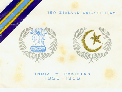 Christmas Card: New Zealand Cricket Team - India - Pakistan 1955/56; Unknown; 1955; 2008.52.22