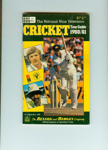 Tour Guide: The National 9 Television Cricket Tour Guide 1980/81; Modern Magazines; 1980; 2007.72.1