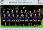 Photo: New Zealand Women's Cricket Team - White Ferns Tour to England 2007; Getty Images; AUG 2007; 2008.36.9