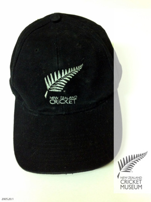 Cap: Stephen Fleming's New Zealand cricket cap; 1994; 2005.20.1