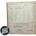 Scorebook: New Zealand Cricket Council, 1899-1935; George G Bussey & Co., New Zealand Cricket Council; 1899; 01/296