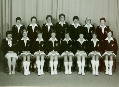 Photo: New Zealand Women's Cricket Team - World Cup - 1982; Christopher Bede Studios; 1982; 97/42